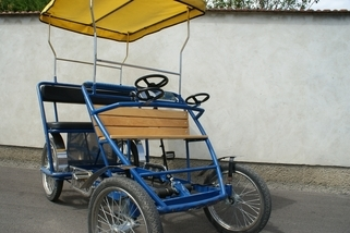 Titelbild rickshaw (2 people + 2 children)